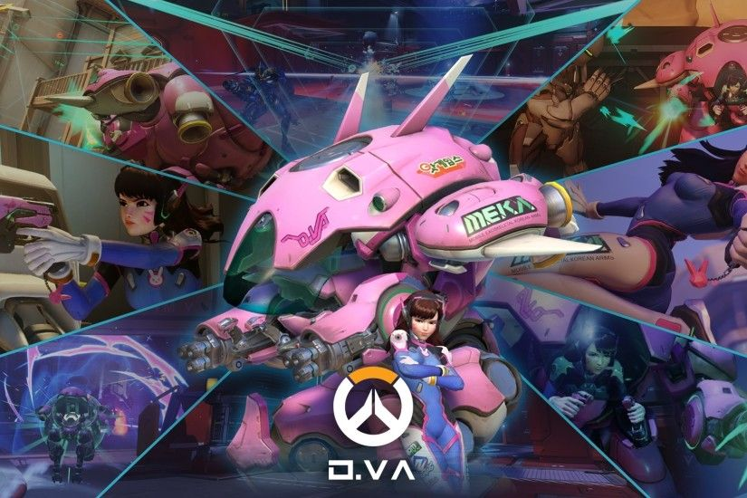 Overwatch Full Hd Wallpaper And Background | 1920X1080 | Id:703889 in  Overwatch Dva Game