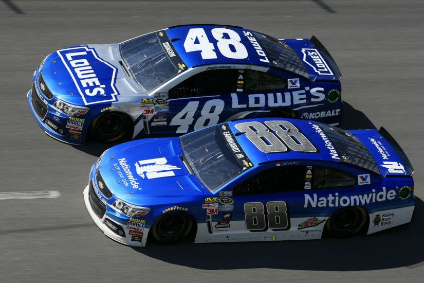 Jimmie Johnson says he did not let Dale Earnhardt Jr. win at Talladega |  NASCAR | Sporting News