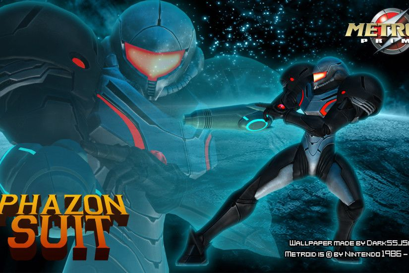 ... Samus Aran Phazon Suit Fanmade Wallpaper by DarkSSJShinji