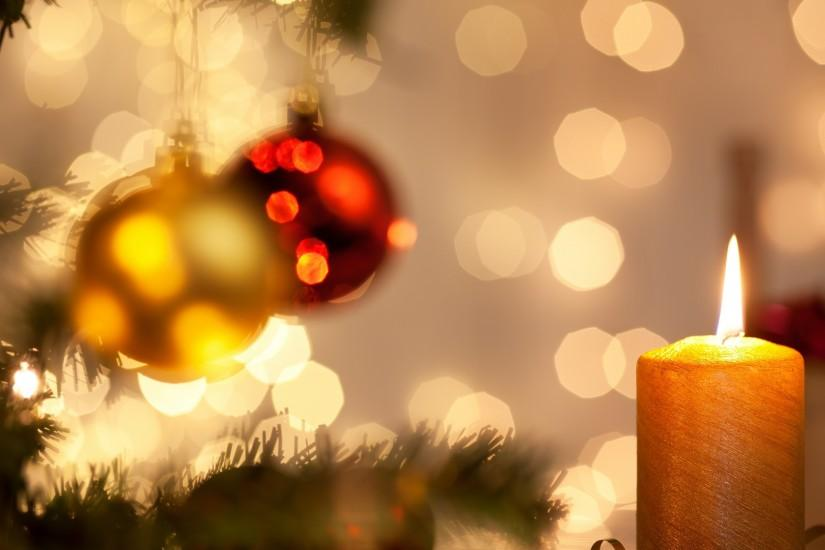 free christmas lights background 2560x1600