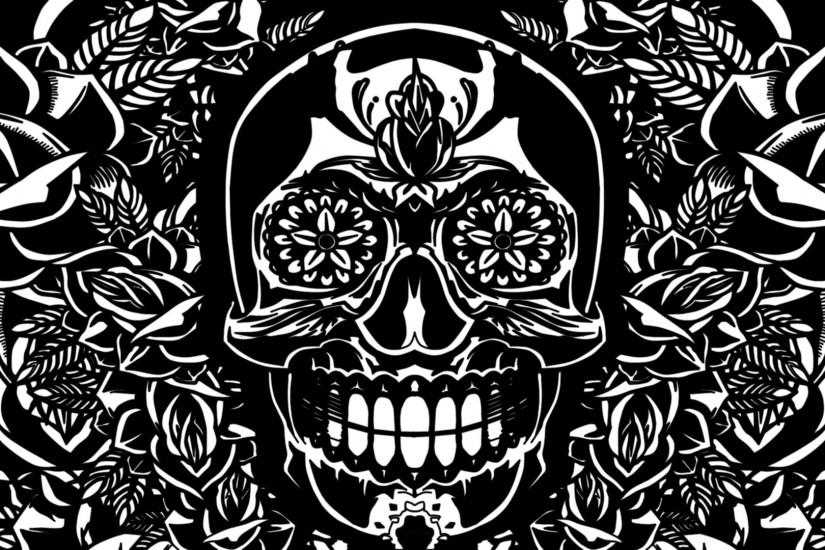 skull backgrounds 1920x1080 for lockscreen