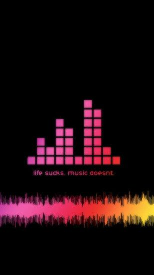 Life Sucks Music Doesn't Wallpaper