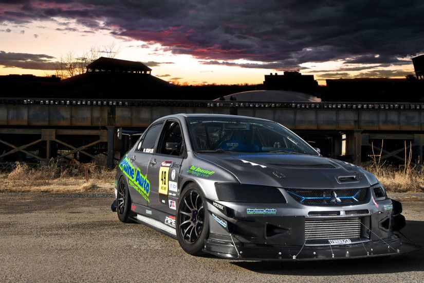 Mitsubishi Lancer Evo X Time Attack Car