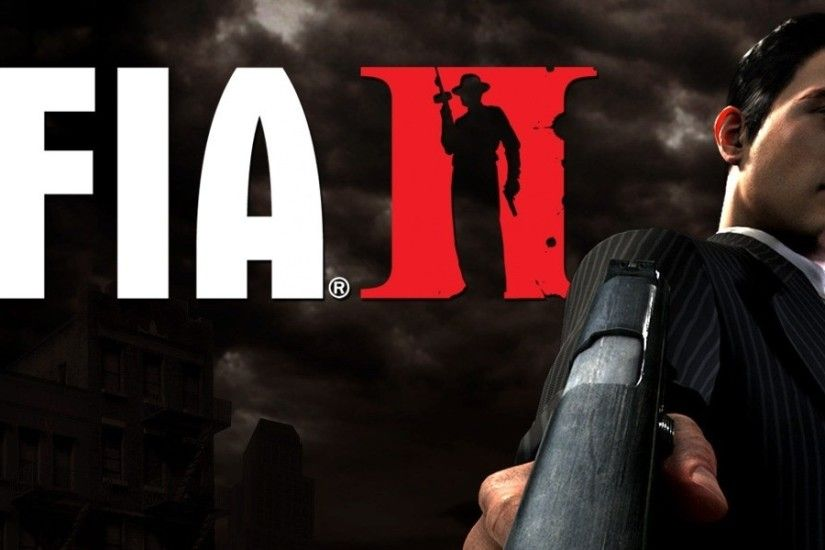 3840x1200 Wallpaper mafia 2, pistol, suit, look