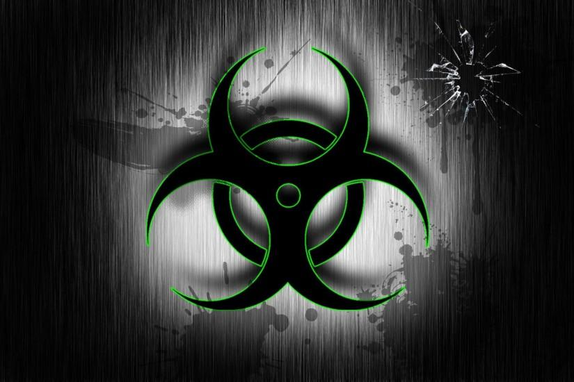 Blue Biohazard Wallpaper Biohazard wallpaper by azula-
