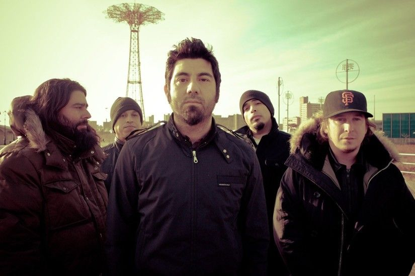 1920x1080 Wallpaper deftones, outdoor, jackets, sunlight, sky