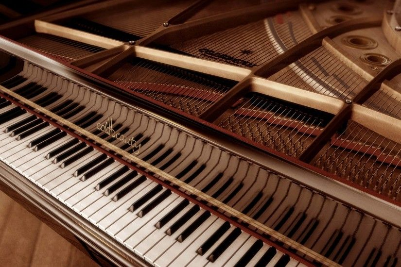 Wallpapers For > Piano Keys Wallpaper Vintage