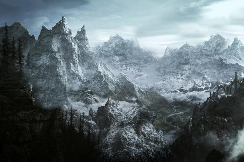 top skyrim background 2560x1600 for windows 10