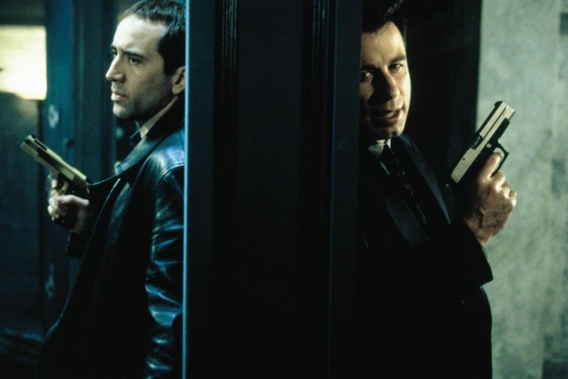 Face/off images Sean Archer (John Travolta) and Castor Troy (Nicolas Cage)  HD wallpaper and background photos