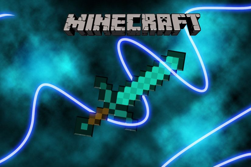 Video Game - Minecraft Sword Video Game Wallpaper