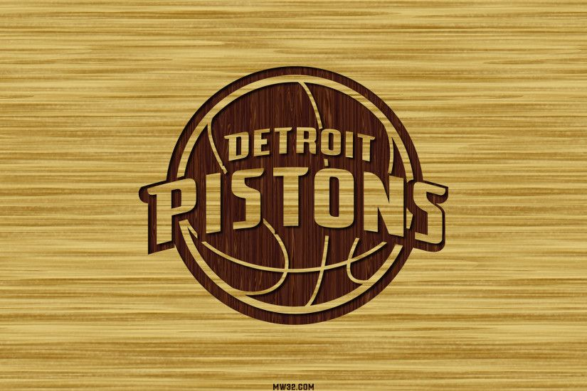 DETROIT PISTONS Basketball Nba brown logo over yellow Wallpapers HD /  Desktop and Mobile Backgrounds