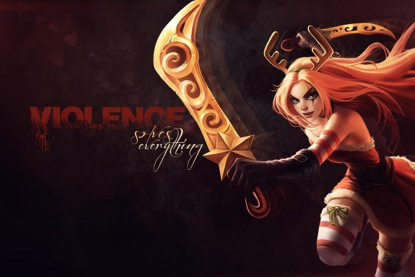 League of Legends Katarina wallpaper