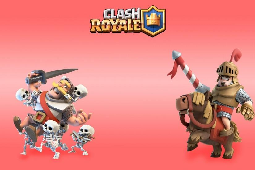 Video game - strategy Clash Royale wallpaper