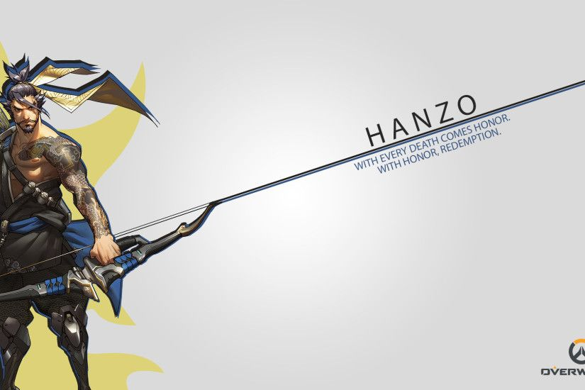 rangaming (Author), Hanzo, Hanzo Shimada, Overwatch, Blizzard  Entertainment, Video Games Wallpaper HD