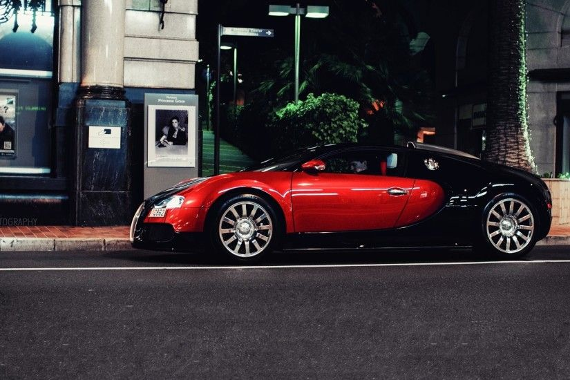 Red Bugatti Veyron HD 1080p Wallpapers Download | HD Wallpapers Source
