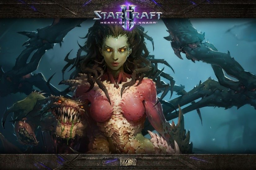 Starcraft II, Video Games, Sarah Kerrigan Wallpaper HD