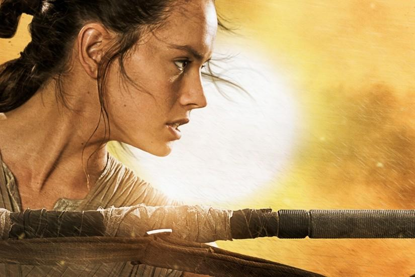 Star Wars: Episode VII The Force Awakens, Movies, Daisy Ridley Wallpaper HD
