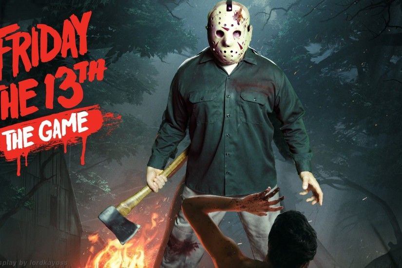 Played around with the main image from the upcoming Friday the 13th The Game.  Matched Jason Voorhees' main pose with my Jason IV costume and shopped it  into ...