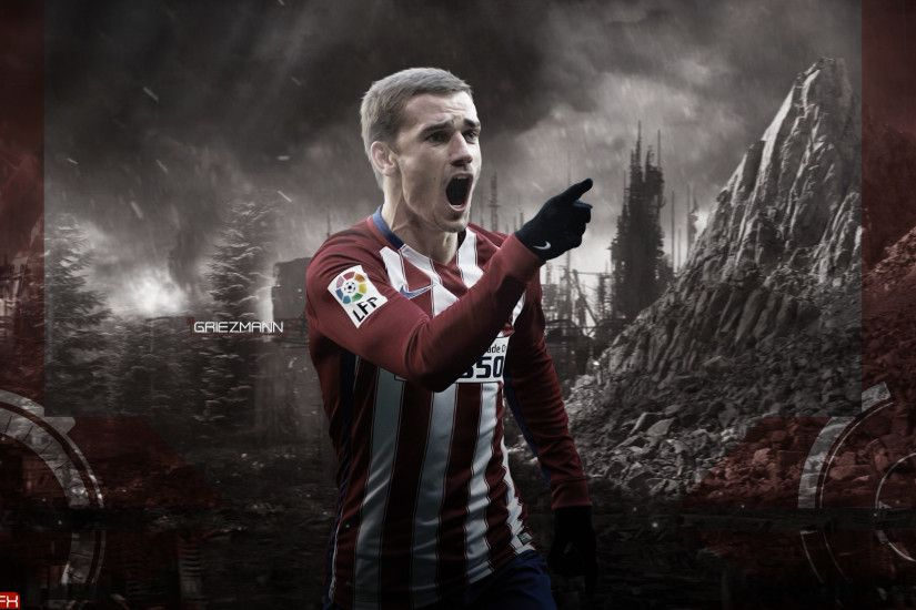 Antoine Griezmann Wallpaper by monta2000 Antoine Griezmann Wallpaper by  monta2000