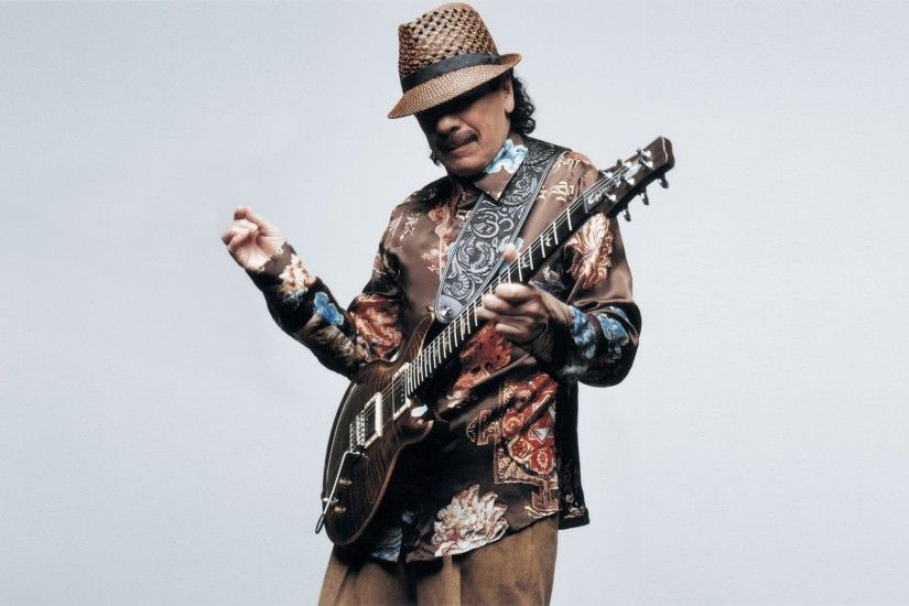 Music - Santana Classic Rock Blues Carlos Santana Wallpaper