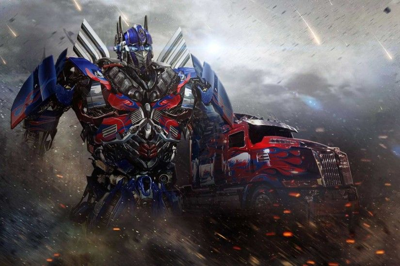 Optimus Prime Toy Age of Extinction - wallpaper.