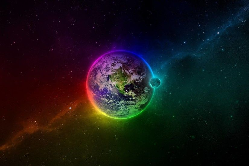 Colorful Earth Mac Wallpaper Download | Free Mac Wallpapers Download