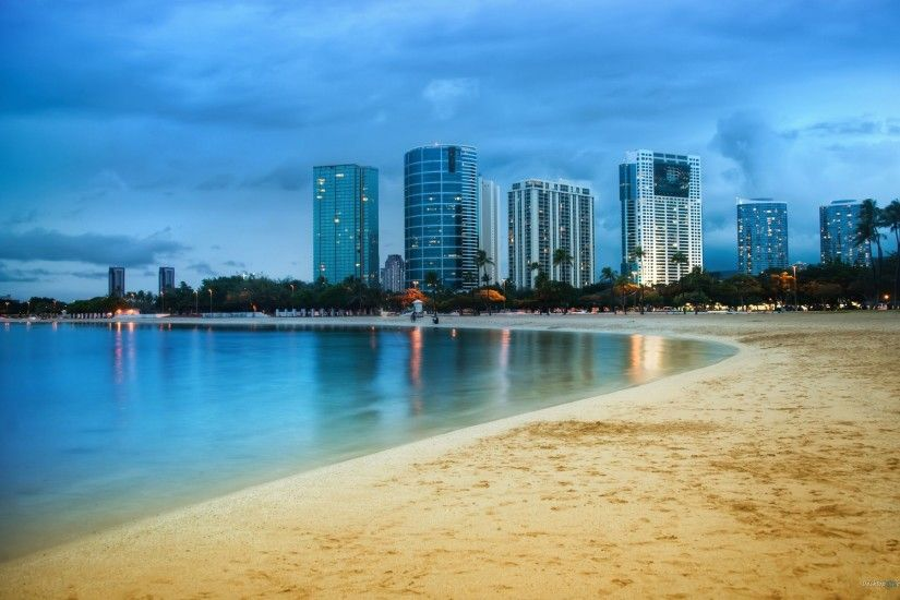 Hawaii Oahu Oahu Hawaii, Hawaii Beach, Waikiki Beach, Beach Wallpaper,  Miami Wallpaper