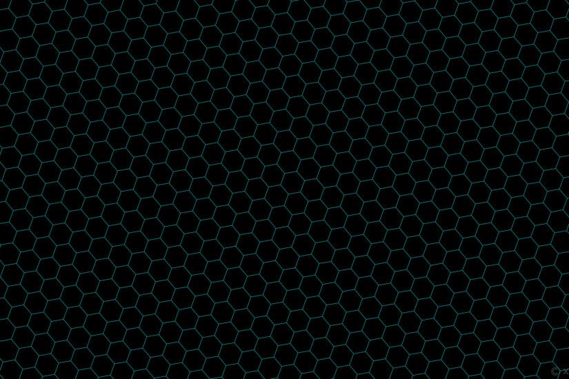 1920x1080 wallpaper honeycomb black blue hexagon beehive dark turquoise  #000000 #00ced1 diagonal 40°