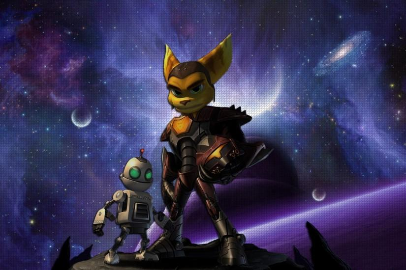 Preview wallpaper ratchet & clank, platform, game 1920x1080