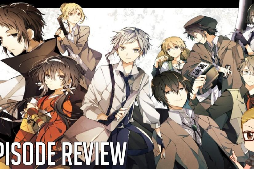 Bungou Stray Dogs Episode 1 Review - Tiger? 文豪ストレイドッグス