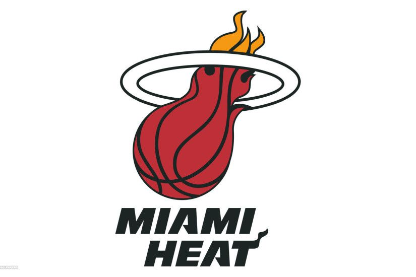 miami heat logo wallpaper simple desktop background