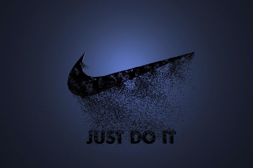 Nike Logo Slogan Sport Advertising wallpaper #