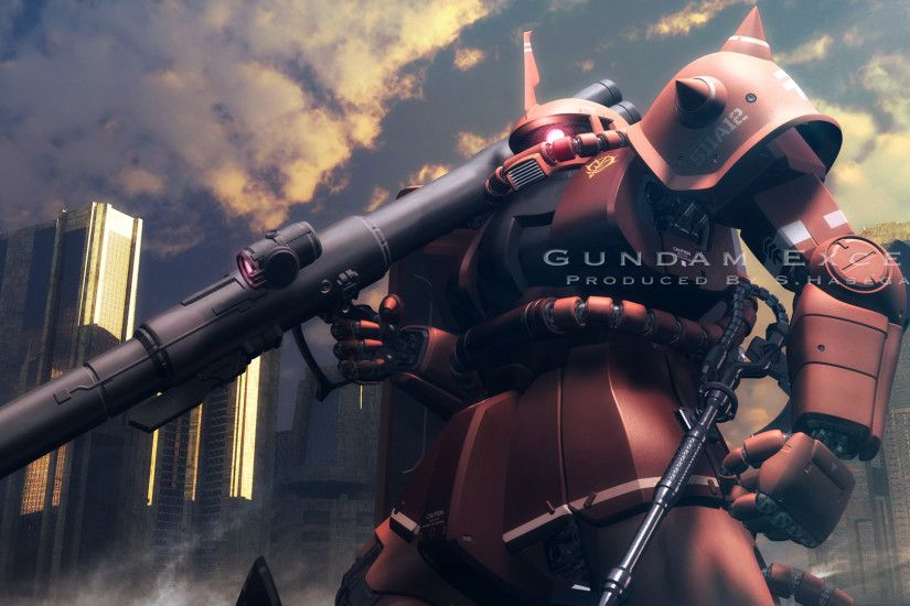 holiday: Wallpaper For G Five Ey Zaku II Wallpapers Wallpapers)
