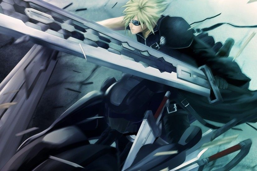 Final Fantasy Cloud Strife Wallpapers - Wallpaper Cave ...
