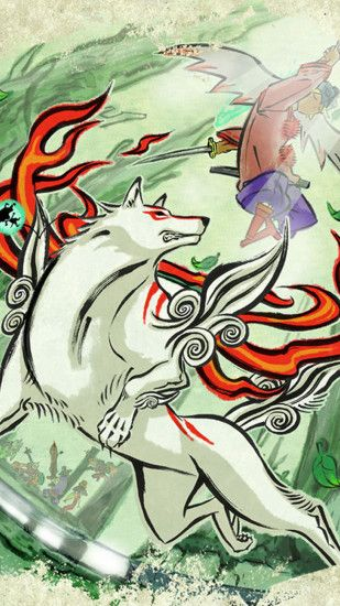 okami-5 Wallpapers for Galaxy S5