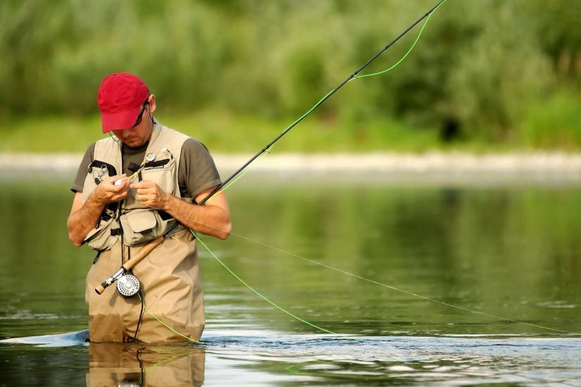 Man Fishing Wallpaper Background 901 #4452 Wallpaper | High Resolution .