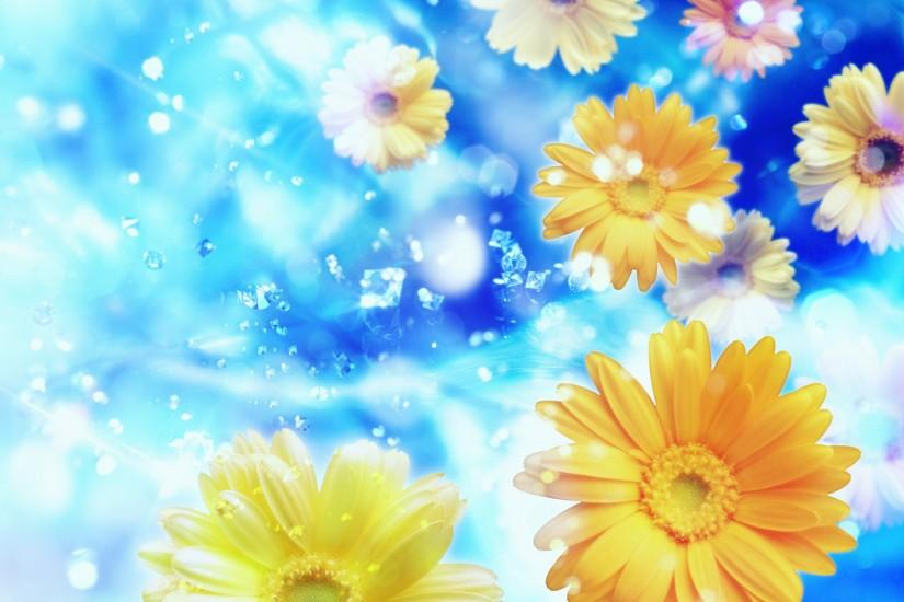 vertical flowers background 1920x1200 hd 1080p
