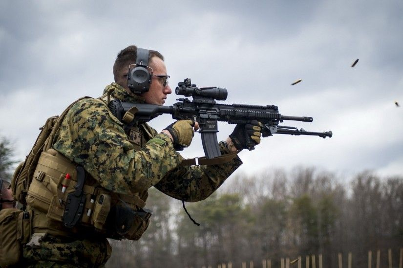 united states marine corps m27 infantry automatic rifle