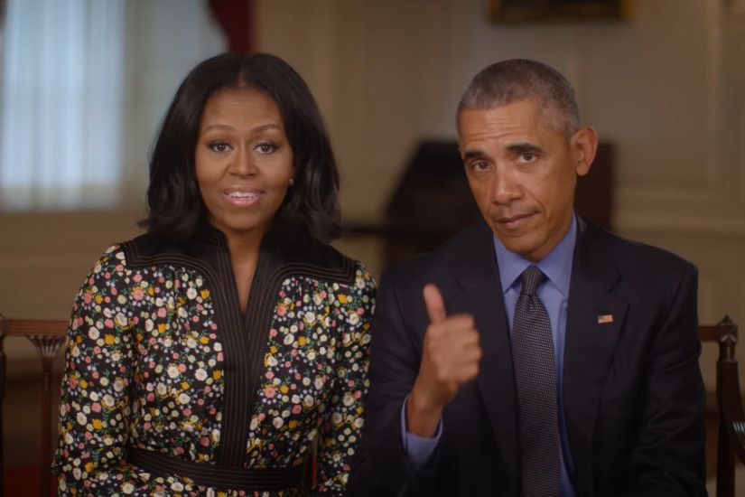 Michelle and Barack Obama ask for input on Presidential Center. (Courtesy  Obama Foundation/