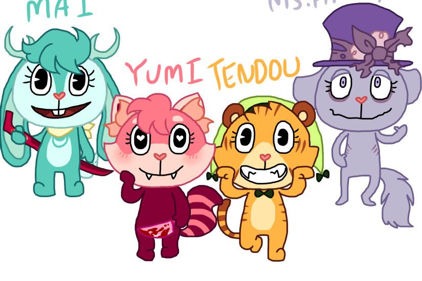 ... Happy Tree Friends: ArtsyGumi's HTF OCs by ArtsyGumi
