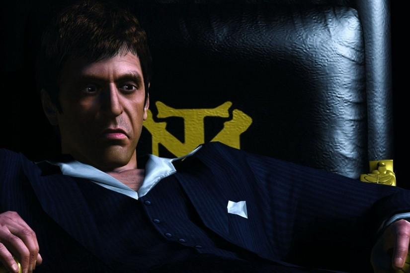 Scarface-Game-Wallpaper scarface wallpaper HD free wallpapers .