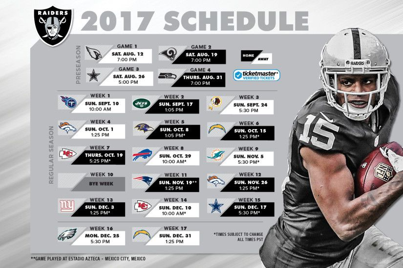 2017 Schedule Wallpaper