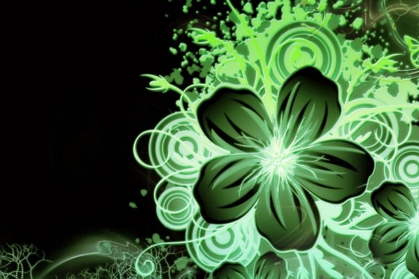 1920x1200 Multi Color Green Flower