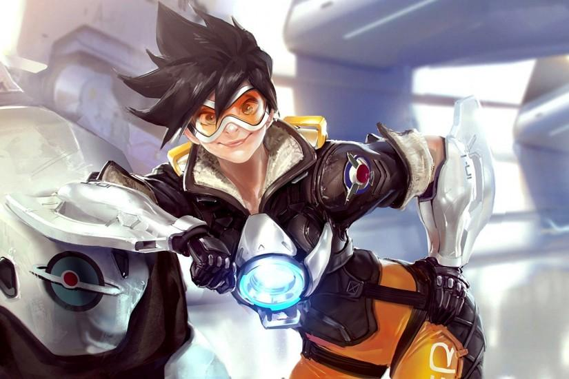 vertical overwatch tracer wallpaper 3840x2160 for windows 10
