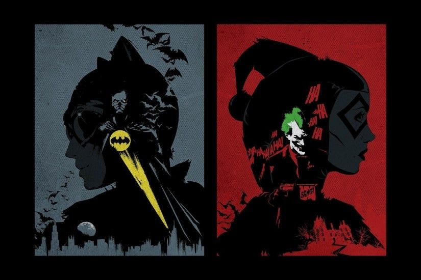 Source · Joker and Harley Wallpaper 67 images 1920x1080 Batman and Catwoman  vs ...