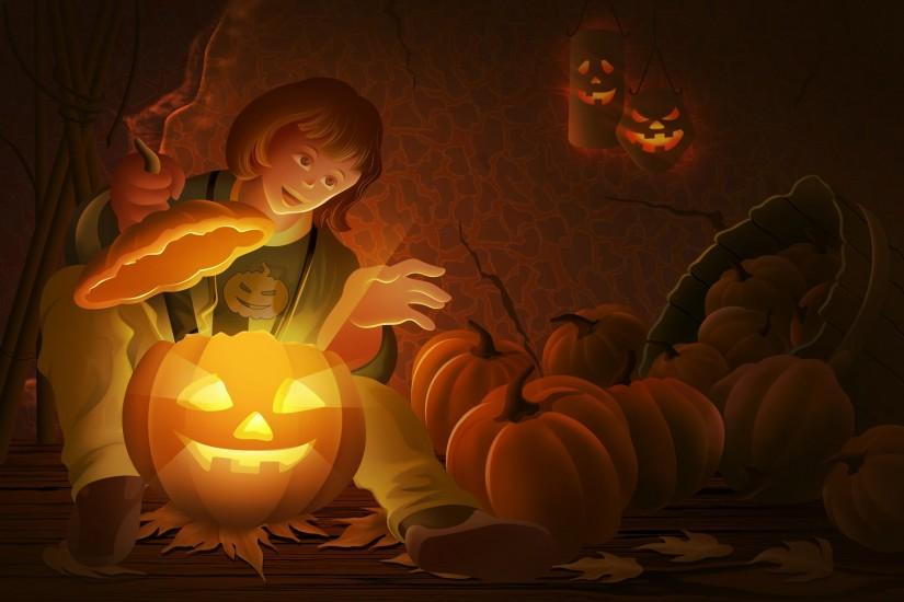 cute halloween wallpaper 1920x1200 for windows
