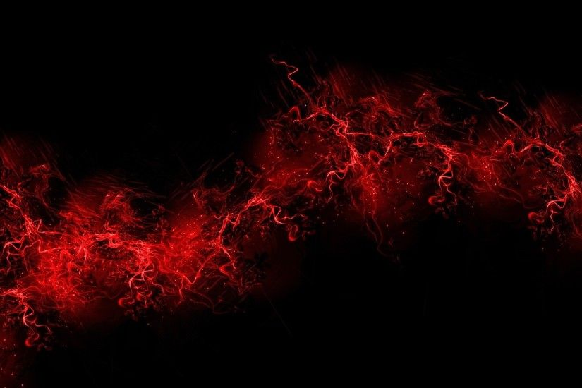 Preview wallpaper black background, red, color, paint, explosion, burst  1920x1080