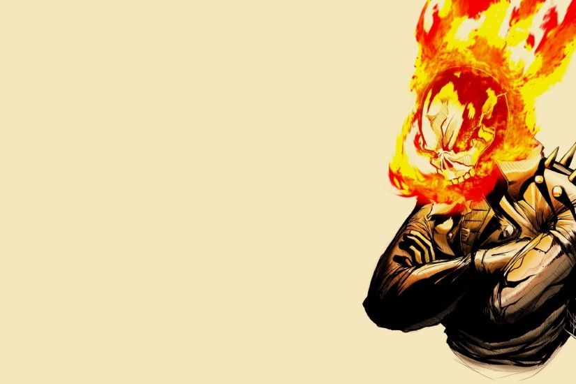 Comics - Ghost Rider Johnny Blaze Wallpaper