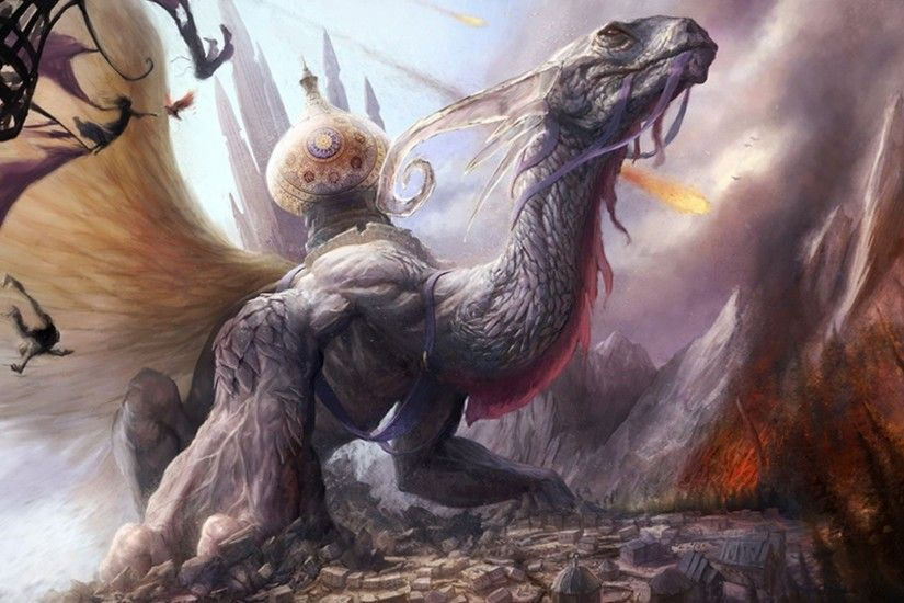 Fantasy Art Creatures Fan Fresh New Hd Wallpaper