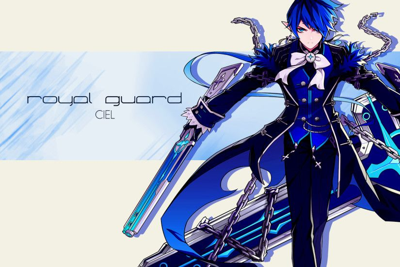 nathanjrrf 5 0 Elsword - Royal Guard Wallpaper by nathanjrrf